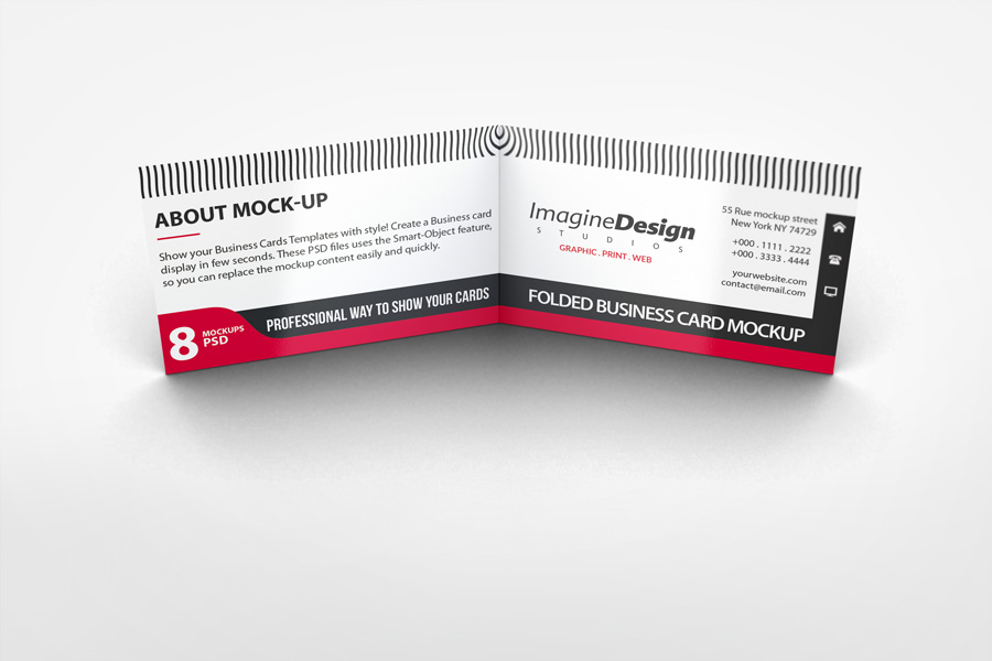 Folded business card printers croydon lion printers folded business cards reheart Images