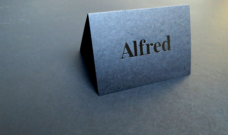 Folded business card printers croydon lion printers folded business cards reheart Gallery