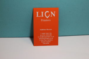 thick luxury business cards printing in Croydon
